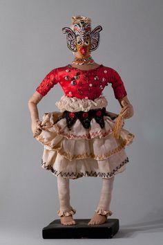 Kandyan devil dancer (front)