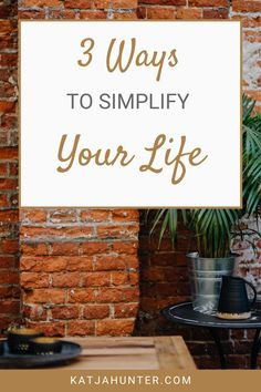 Here are 3 ways to simplify your life. You can reduce stress and overwhelm within yourself and in your home. This post will give you an easy system to simplify your life in 3 areas. External, internal and personal.  #minimalism #simpleliving #businesssimplified Self Development, Personal Development, Definition Of Self, Negative Self Talk, Change Your Mindset, Self Compassion, Get What You Want, Be Kind To Yourself, Life Purpose