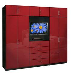 Aventa Wardrobe TV Cabinet X-Tall - Extra Wardrobe Cabinet Storage