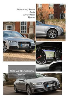 The Audi A7 Sportback Review  Audi's A7 Sportback makes you wonder if the day might soon dawn when that company will build an individual car for each and every customer.  #audi #quattro #luxurycars #personalisation #style