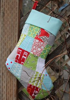 Frozen Knickers: DIY: christmas stocking with cuff tutorial by FrozenKnickers Quilted Christmas Stockings, Christmas Stocking Pattern, Christmas Stocking Stuffers, Christmas Sewing, Diy Christmas Ornaments, Christmas Projects, Christmas Quilting, Christmas Ideas, Christmas Things