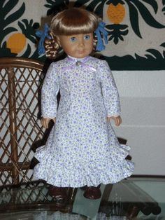 1800s Prairie Pioneer Dress for American by alohagirldollclothes, $34.50