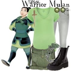 Warrior Mulan by tallybow on Polyvore featuring polyvore fashion style Polo Ralph Lauren Frame Denim Jeffrey Campbell Frye John Hardy Honora Jennifer Fisher