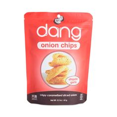 Shop Dang Chipotle Garlic Crispy Sliced Onion Chips at wholesale price only at ThriveMarket.com