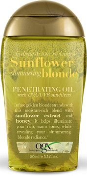 OGX Sunflower Shimmering Blonde Penetrating Oil