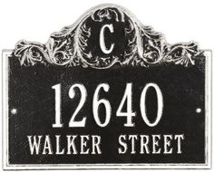 Acanthus Two Line Wall Address Plaque - standard 2 line, Black by Home Decorators Collection. $88.99. Acanthus Two Line Wall Address Plaque - Bring Some Flair To Your Front Yard And Make Your Address Both Easily Seen And Admired With The Acanthus Two-Line Wall Address Plaque. Our Personalized Plaques Are Handcrafted Of Rust-Free Cast Aluminum With A Baked-On Finish To Withstand The Elements And Keep Your Marker Looking Marvelous. Dress Up Your Digits Today! Available In...