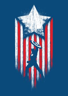 """""""Captain America"""" by Stephen Toang                                                                                                                                                                                 More"""