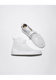 MM6 white transparent sneakers