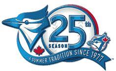 Toronto Blue Jays Anniversary Logo - Toronto Blue Jays Season - A Summer Tradition Since 77 Anniversary Logo, Toronto Blue Jays, Sports Logo, Nhl, Quilting, Canada, Tattoo, Baseball, Logos