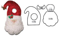 Christmas Makes, Christmas Art, Christmas Holidays, Christmas Decorations, Xmas, Christmas Ornaments, Holiday Decor, Holiday Ideas, Sewing Crafts
