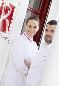 Andrée Rosier - Restaurant Les Rosiers, Biarritz   - 1ère femme Meilleur Ouvrier de France - 1 étoile au guide Michelin