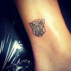 Transformer tattoo!