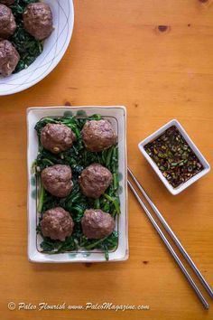 Get this Keto Asian Meatballs Recipe with Dipping Sauce [Paleo, Dairy-Free] here. Includes beautiful photos and printable step-by-step instructions.