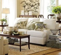 Pottery barn living room is the first place to look whenever you have new decoration ideas for a room. You can arrange a new look for your room in any way pottery barn living room designs, pottery barn living room furniture, pottery barn living room ideas Living Room Small, Living Room Sofa Design, Living Room Green, Home Living Room, Living Room Furniture, Living Room Designs, Living Room Decor, White Furniture, Wood Furniture