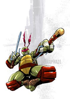 Tmnt Raphael by deemonproductions on DeviantArt