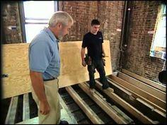 leveling floor joists sistering - Google Search | DIY ...