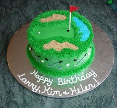 Golf Cake for dads bday!