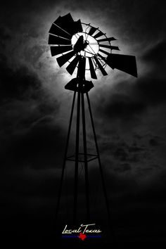 An old windmill stands guard against a stoic sky near Maxwell, TX. Photographic Prints: Photographic prints are available in two finishes – matte and glossy. Matte prints look great in all types of… Old Windmills, Types Of Lighting, Le Moulin, Unique Image, Photographic Prints, Wind Turbine, Canvas Prints, Black And White, Charcoal Drawings