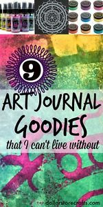 Art Journaling is a popular current trend in arts and crafts, but just what is an Art Journal? Well, it's just a journal that includes a combination of art and writing, in any way that you like. While...