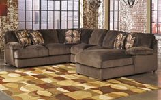 Ashley Truscotti 4-Piece Sectional - Cafe