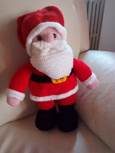 L'uncinetto di Simo e Isa: Babbo Natale