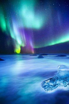 Aurora Borealis, so very beautiful Beautiful Sky, Beautiful Landscapes, Landscape Photography, Nature Photography, Scenic Photography, Night Photography, Landscape Photos, Nature Pictures, Beautiful Pictures