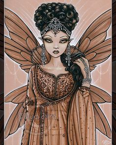 Spencers Gifts, Fairy Queen, Fairy Pictures, Queen Art, Gothic Fairy, Fairy Princesses, Online Painting, Fairy Art, Faeries