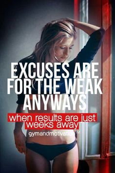 Don't be weak #workout #motivation <3 Visit www.thatdiary.com for tips + advice on health & fitness