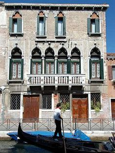 Palazzo Odoni, Venice, Italy. My home away from home