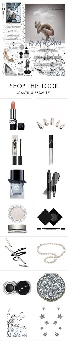 """""""illusa"""" by xexxhendez ❤ liked on Polyvore featuring Christian Dior, Eyeko, Burberry, trèStiQue, Clarins, Serge Lutens, Astley Clarke, Kate Spade, East End Prints and Giuseppe Zanotti"""