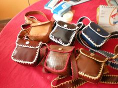 carteras en crochet y cuero - Google Search