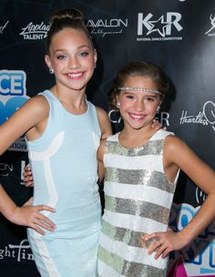 Maddie Ziegler made a public appearance with her sister, Mackenzie Ziegler, at the Industry Dance Awards 2014 [2014]