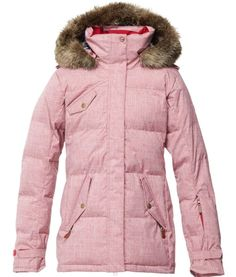 Roxy Quinn Jacket. Perfect jacket for both on the slopes and travelling. It is stylish and warm with Thinsulate Insulation and a 10,000mm DriFlight Coating so you can be sure to stay comfortable in any conditions. $349.99 #skigear.#roxyjackets #womensskijacket