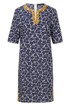 Bibi Tunic Dress  Navy / Mustard  £48.00