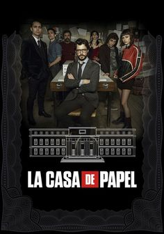 La Casa De Papel-The Money Heist (Netflix-April Season thriller created by Alex Pina. A mysterious man, El Profesor, plans a big heist. The ambitious plan; recruiting a gang of 8 people with certain abilities, nothing to lose. Tv Series To Watch, Series Movies, Shows On Netflix, Netflix Movies, Drama, Thriller, Netflix April, Photos Des Stars, Free Tv Shows
