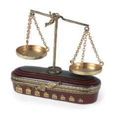 Scales of Justice Box