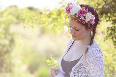jitkita / bohatá květinová korunka Crown, Boho, Fashion, Moda, Corona, Fashion Styles, Bohemian, Fashion Illustrations, Crowns