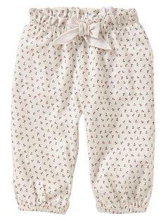 Gap | Floral bubble pants