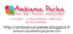 AMBIANCE PERLES atelier création bijoux accessoires (ambianceperlesblog@gmail.com) Vannes Morbihan : Contact