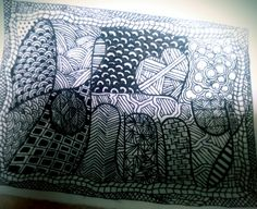 #zentangle with a name
