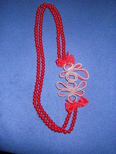collana perle e zip