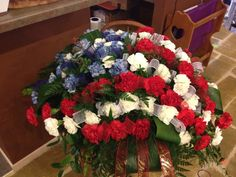 casket flower arrangement - Google Search