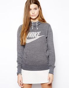 Nike Logo Hoodie-of course, i'd wear it with yoga pants, but still, it's cute.