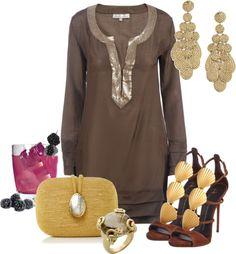 Outfits de Moda ...Me Tomo Cinco Minutos: FIESTA