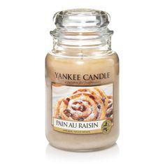 Pain au Raisin : Large Jar Candles : Yankee Candle