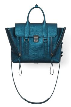 3.1 Phillip Lim Pashli Medium Satchel in Turquoise