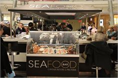 Seafood Bar. JFK airport