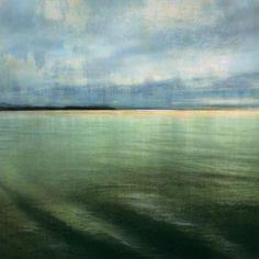 Gango Editions Tranquil Water II  Landscape Art