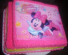Minnie 2 Tier Cake