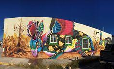 "#SENKOE ""J A C K A L O P E Thus was the mural this week in Cd. Acuña, Coahuila, con @mamuttmx e @infonavitoficial  #senkoe #streetart #urban #mexico #artwork #animal #mural #graffiti #illustration #jackalope #lebrilope #pintemosmexico 11/2015…"""